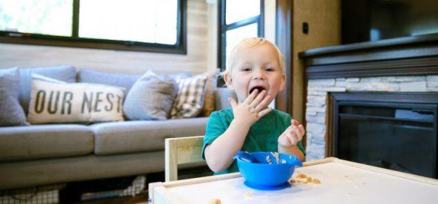 Meal Plan for 12-Month-Old