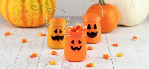 Halloween Jar-O-Lantern