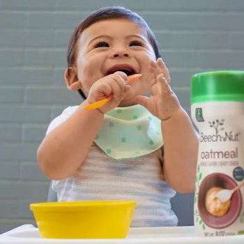 starting solids with infant cereal