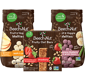 Beech-Nut® Baby Food: Real Food with Simple Ingredients