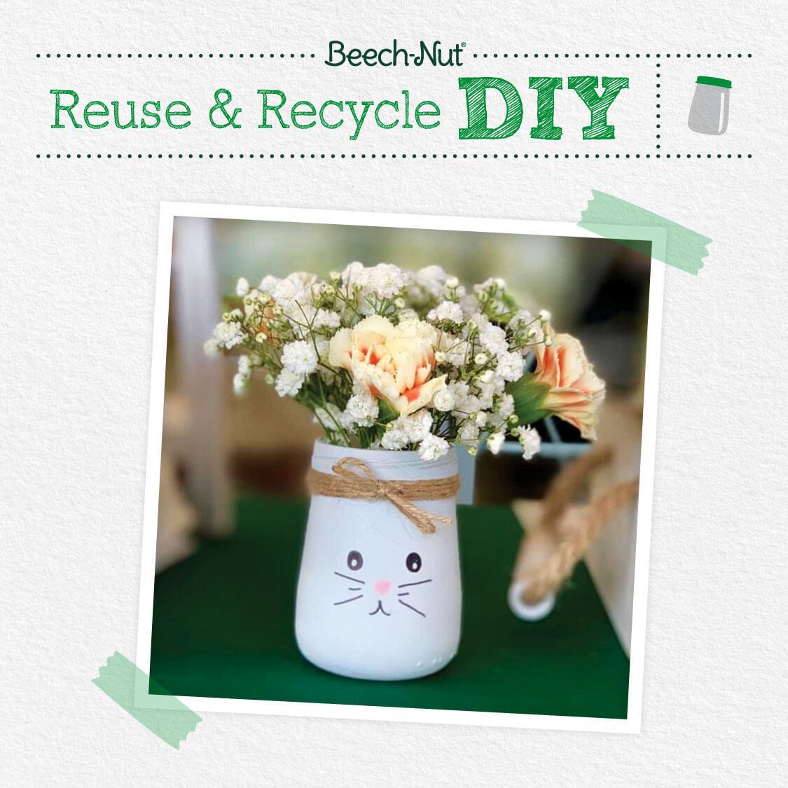 Beech-Nut Bunny Jar DIY