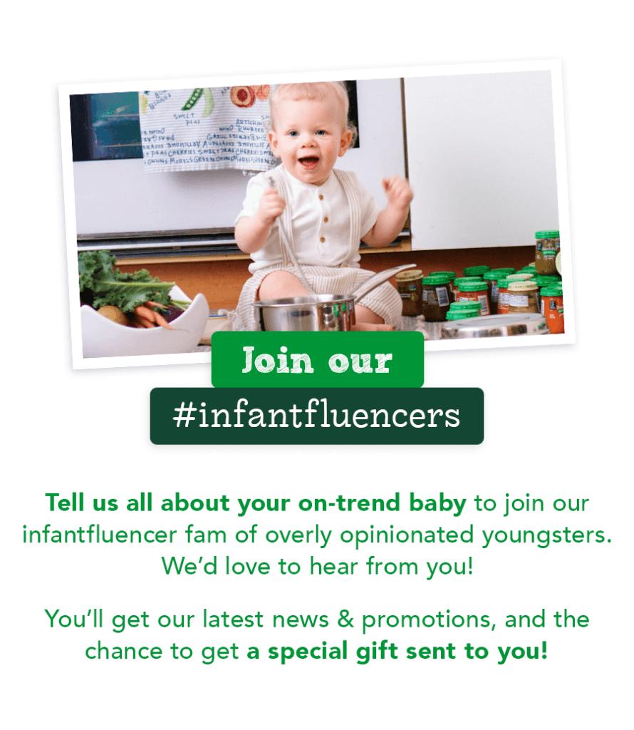 Join our #Infantfluencers