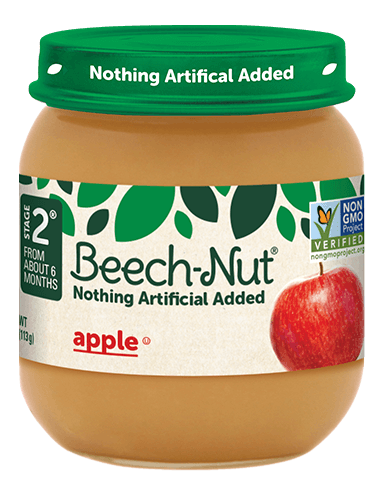 Beech-Nut® apple jar