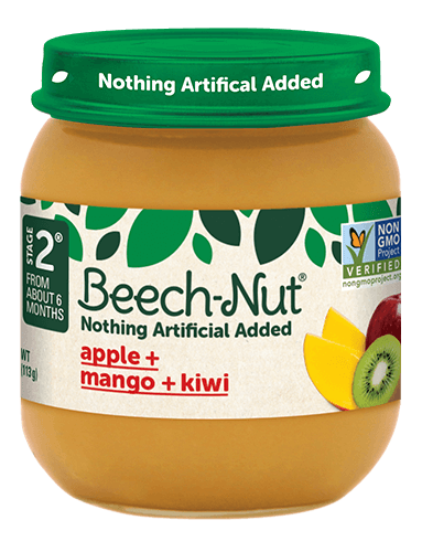 Beech-Nut® apple + mango + kiwi jar