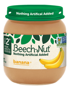 Beech-Nut® banana jar