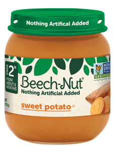 Beech-Nut® sweet potato jar