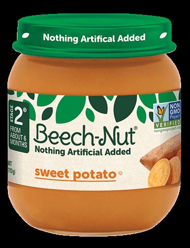 Beech-Nut® sweet potato jar