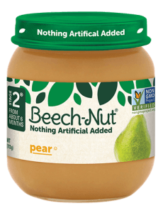 Beech-Nut® pear jar