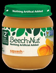 Beech-Nut® squash jar