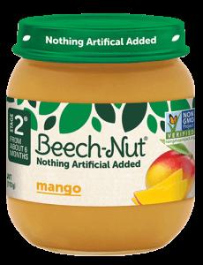 Beech-Nut® mango jar