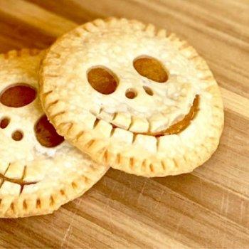 scary skellington pies