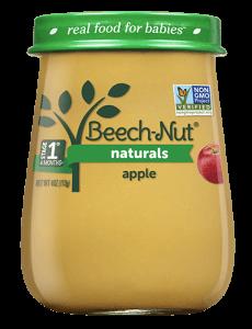 Naturals apple jar