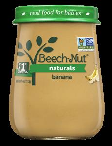 Naturals banana jar