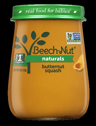 Naturals butternut squash jar