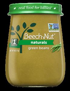 Naturals green beans jar
