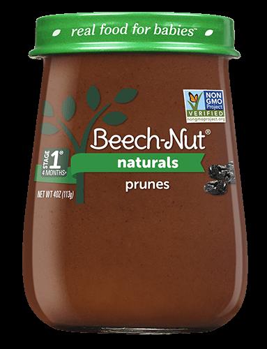 Naturals prunes jar