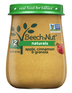 Naturals apple, cinnamon & granola jar