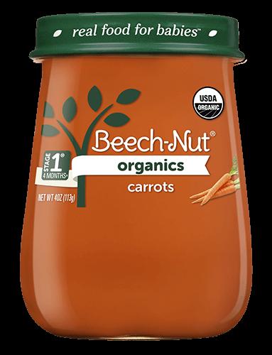 Organics carrots jar