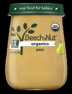 Organics pear jar