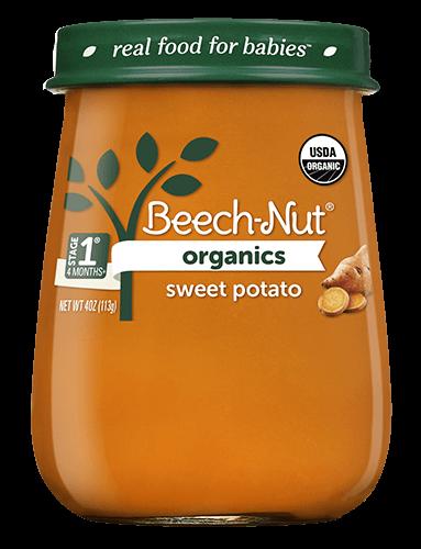 Organics sweet potato jar