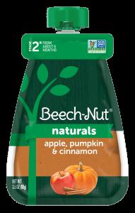 Naturals apple, pumpkin & cinnamon pouch