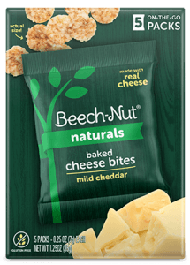 Naturals mild cheddar Baked Cheese Bites
