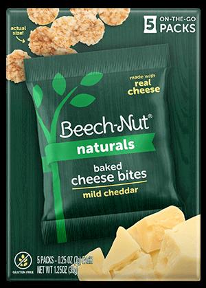 Naturals mild cheddar Baked Cheese Bites