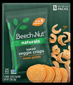 Naturals sweet potato Baked Veggie Crisps